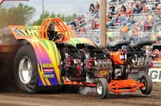 Bowling Green Tractor Pull   Cross Threaded Bowling Green OH Tractor Pull