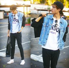 Opening Ceremony grunge  (by Adam Gallagher) http://lookbook.nu/look/4038566-Opening-Ceremony-grunge