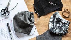 Rouška s kapsou na filtr a drátkem okolo nosu Singer, Knitting, Sewing, Youtube, Crochet, Diy, Messages, Face, Buffalo Check