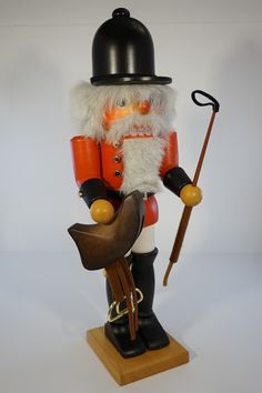 The Equestrian nutcracker. Beautiful example of the excellent quality from Christian Ulbricht! Excellent gift for the nutcracker collector! Sorry the original packaging is not available for this item.