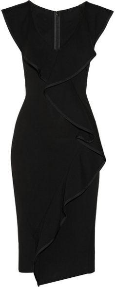 Donna Karan New York. Vestido Social, Pretty Dresses, Sexy Dresses, Fashion Dresses, Evening Dresses, Formal Dresses, Mantel, Peplum Dress, Dress Skirt
