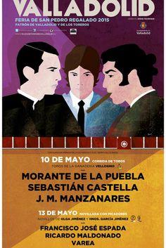 #Valladolid @Morante_puebla_ @JMManzanares @castella_gm @FranEspada @Maldonadoricar http://www.servitoro.com/Entradas-Toros-Valladolid.html