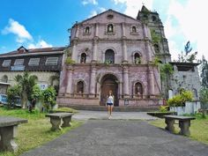 "One of the oldest churches in the Philippines - San Gregorio Magno (St. Gregory the Great parish church) in #Majayjay Laguna. They shot the 70's Filipino film classic ""Tatlong Taong Walang Diyos"" starring Nora Aunor & Christopher de Leon here ⛪️ Next on #TaraGrets #TVPatrol"