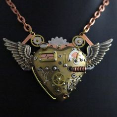 Steampunk Jewellery by Steelhip Design - Think Art Loud Think Art Loud