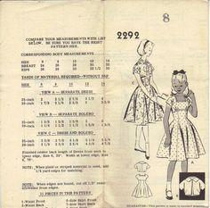 Vintage Sewing Pattern 1950s Rockabilly by AdeleBeeAnnPatterns, $11.00