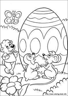 Easter coloring pictureAmigas, amigos e visitantes do meu cantinho...obrigada pelo seu comentário. Beijinhos no coração de todos. Cátia Amélia