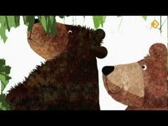 Vieze vuile beer Ga In, Eric Carle, School Themes, Dinosaur Stuffed Animal, Moose Art, Christmas Ornaments, Projects, Crafts, Youtube