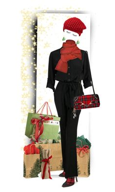 """Invisible Christmas Shopping!"" by auntiehelen ❤ liked on Polyvore featuring art"