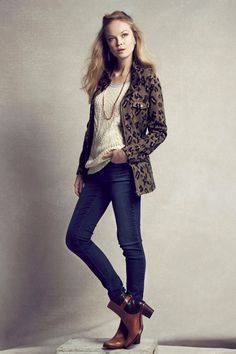Leopardeau Jacket | Anthropologie.com