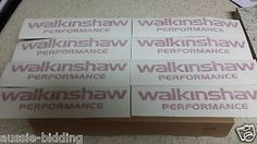 """HSV VE Walkinshaw Engine Cover Sticker V8 """"Brand New"""" Red  FREE DELIVERY"""