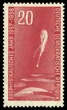 Stamps of Germany (DDR) MiNr 0616 - Internationales Geophysikalisches Jahr – Wikipedia University Of Michigan, East Germany, Postage Stamps, Balloons, Ebay, Europe, Art, Science, Kunst