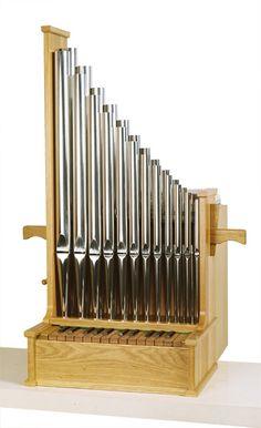 "EMS 2ft Portative Organ at the Early Music Shop"""