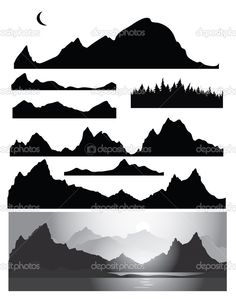 depositphotos_21462041-Silhouettes-of-mountain-for-design-all-elements-of-rocks-and-forest-are-seamless.jpg (805×1023)