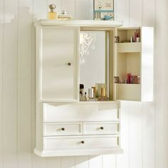 Hannah Beauty Wall Cabinet From PBTeen.