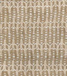 Utility Fabric- Burlap Flame Stitch, , hi-res