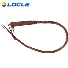 LOCLE 100 cm Genuine Bull Leather Hand Made Braided Riding Whips for Horse Racing  Equestrian Horse Whip Riding Crop