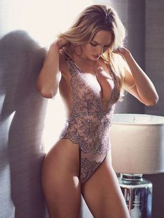 The perfect lighting & the prettiest lace teddy: two VERY tempting reasons to cancel your plans, stat. | Victoria's Secret Chantilly Lace Plunge Teddy