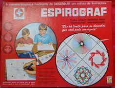 Espirograf Estrela - Dec 70 - Completo - Com Manual - A21 - R$ 165,00 no MercadoLivre