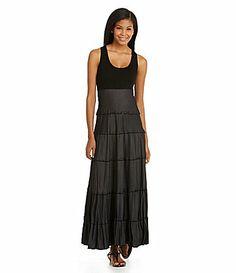 Karen Kane Tiered Maxi Dress #Dillards