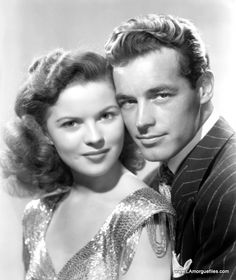 Guy Madison and Shirley Temple