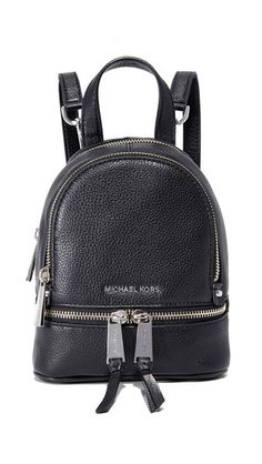 40d1ab9ce0 MICHAEL MICHAEL KORS Rhea Mini Backpack.  michaelmichaelkors  bags  leather   backpacks