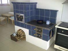 Kuchyňská kachlová kamna - fotogalerie