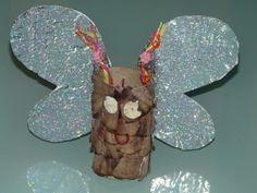 http://www.elmundodeinma.com/manualidades-mariposa-con-material-reciclado/ Manualidades: Mariposa con material reciclado