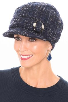 3b7e18d7 Raelynn Newsboy Hat - Hats for Cancer Patients, Chemo Hat Hats For Cancer  Patients,