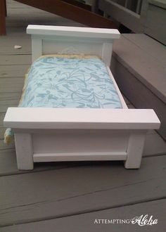 Directions to build and American Girl doll bed
