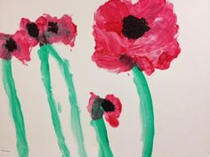 Poppies for peace Remembrance Day Art, Poppy Craft, Anzac Day, Veterans Day, Early Childhood, Memorial Day, Artsy Fartsy, Holiday Crafts, Special Day