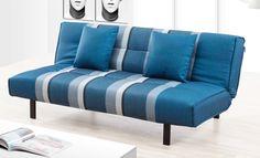 海軍藍條紋沙發床 網路售價: $5800 / 日租: $1160