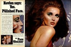 SAMANTHA JONES Revlon The Face Gleamer 1967