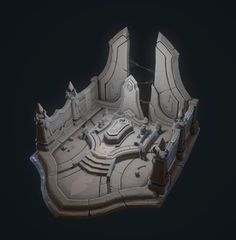 ArtStation - The Hierophant's Tomb, Clayton Chod