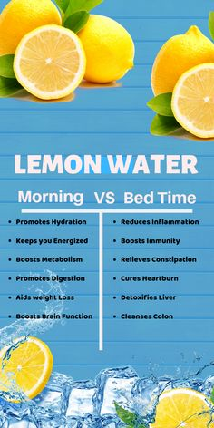 Lemon water can act as a powerful natural medicine to cure many ailments if taken at a certain time. Here is the key comparison of Lemon water when taken at different times. You can find the Jaw dropping benefits of Lemon water here. Detox Drinks, Healthy Drinks, Get Healthy, Healthy Water, Healthy Detox, Healthy Weight, Lemon Water In The Morning, Health And Wellness, Health Tips