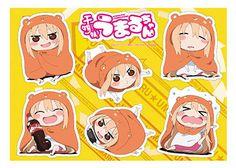 AmiAmi [Character & Hobby Shop]   Himouto! Umaru-chan - Ita-umbrella Sticker: Ie Umaru ver.(Released)