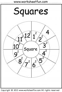 Square Numbers (W10)