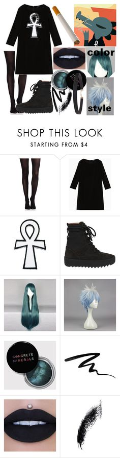"""Bea   Night In The Woods"" by dappershadow ❤ liked on Polyvore featuring SPANX, Max&Co., adidas, ETUÍ, Eyeko and Humble Chic"