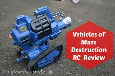 Kids Loved Vehicle of Mass Destruction RC Vehicles  Review #teen #tween #Gift #christmas #toy #RC #robot #kids