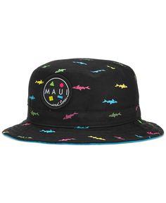 395f84c18db Maui and Sons Classic Shark Attack Bucket Hat Men - Hats