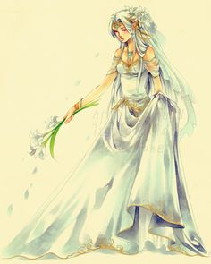 Seremela the Bride by Ecthelian.deviantart.com on @deviantART