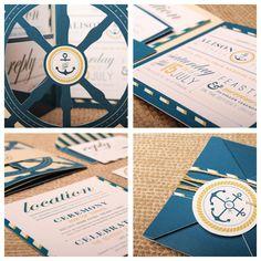 Nautical Wedding design