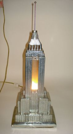 New York Empire State Building Desk Lamp Floor Lamp