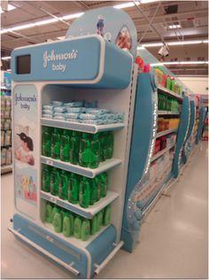 Johnson's display unit  vendor machine