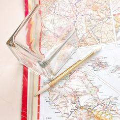 DIY Map Votive | POPSUGAR Smart Living