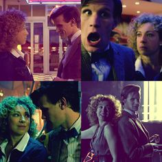 The Eleventh Doctor and River Song; Series 6