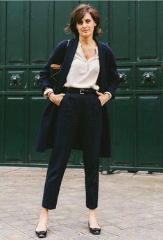 Estilo fashionista parisiense: Inès de la Fressange