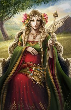 ArtStation - Empress, Agnieszka Dabrowiecka