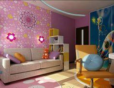 30 Ideen für Kinderzimmergestaltung - kinderzimmer gestalten ideen deko mädchen design