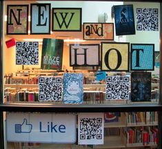 New and Hot library bulletin board!
