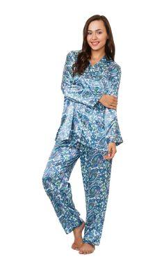 4c04eca52a Women s Paisley Print PJ Set in 5 Color Choices